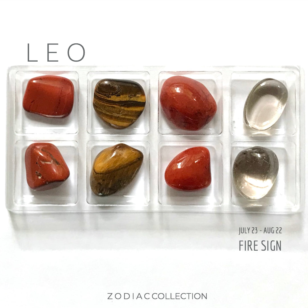 LEO ZODIAC COLLECTION -- July 23 - Aug 22 | Fire Sign --- Rox Box