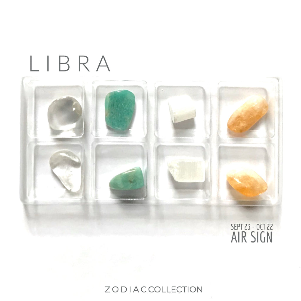 LIBRA ZODIAC COLLECTION -- Sept 23 - Oct 22 | Air Sign --- Rox Box