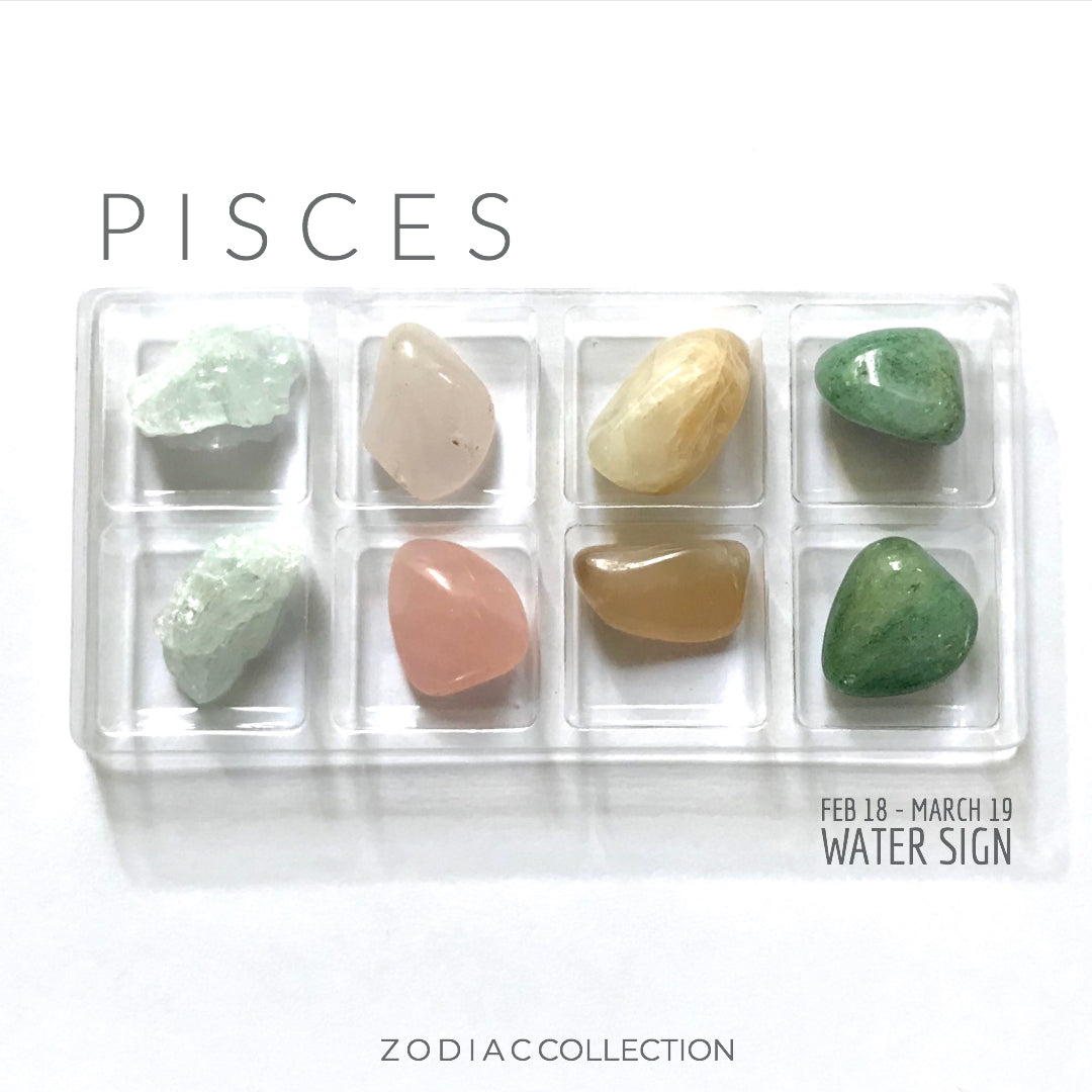 PISCES ZODIAC COLLECTION -- Feb 18 - March 19 | Water Sign --- Rox Box