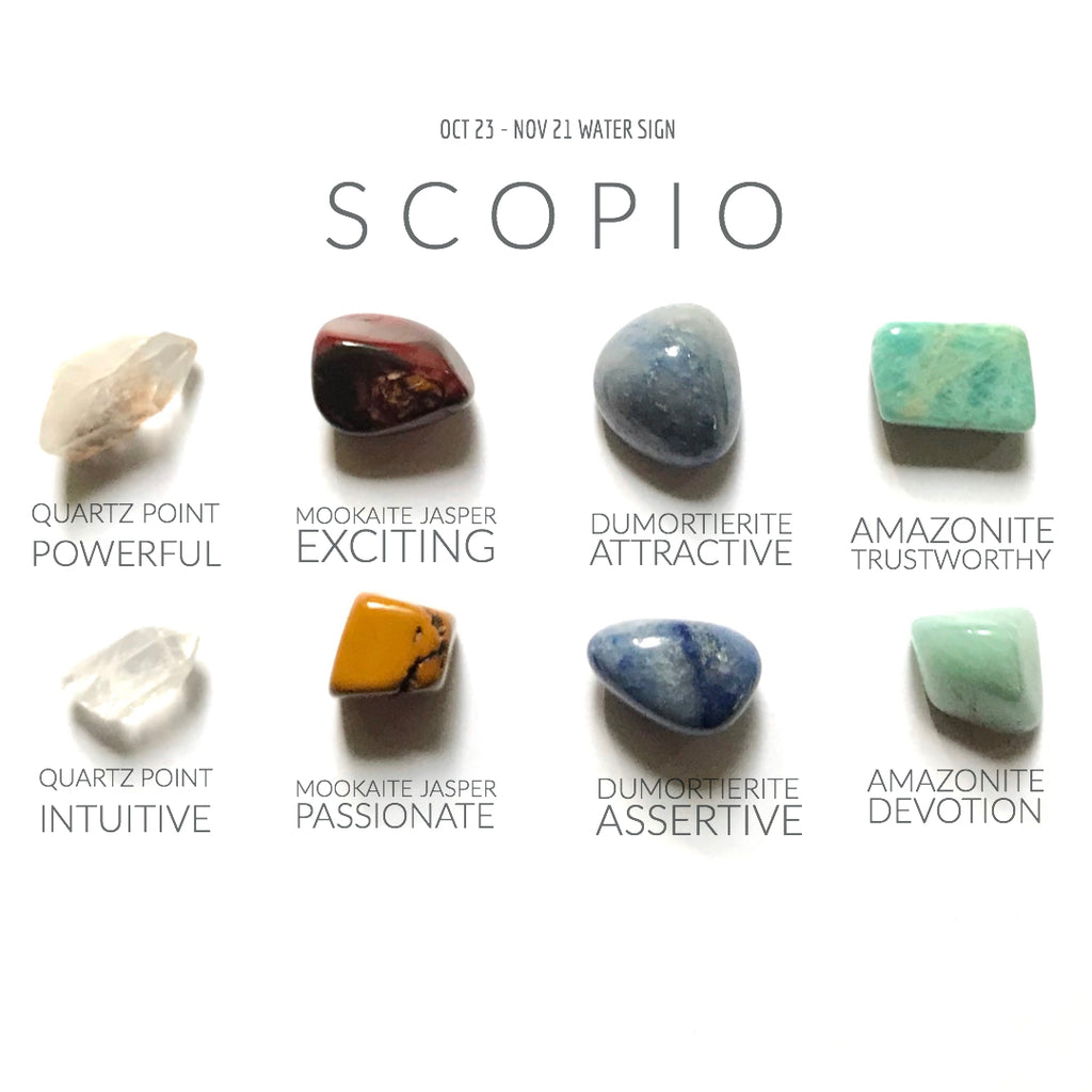 SCORPIO ZODIAC COLLECTION --- Oct 23 - Nov 21 | Water Sign --- Rox Box