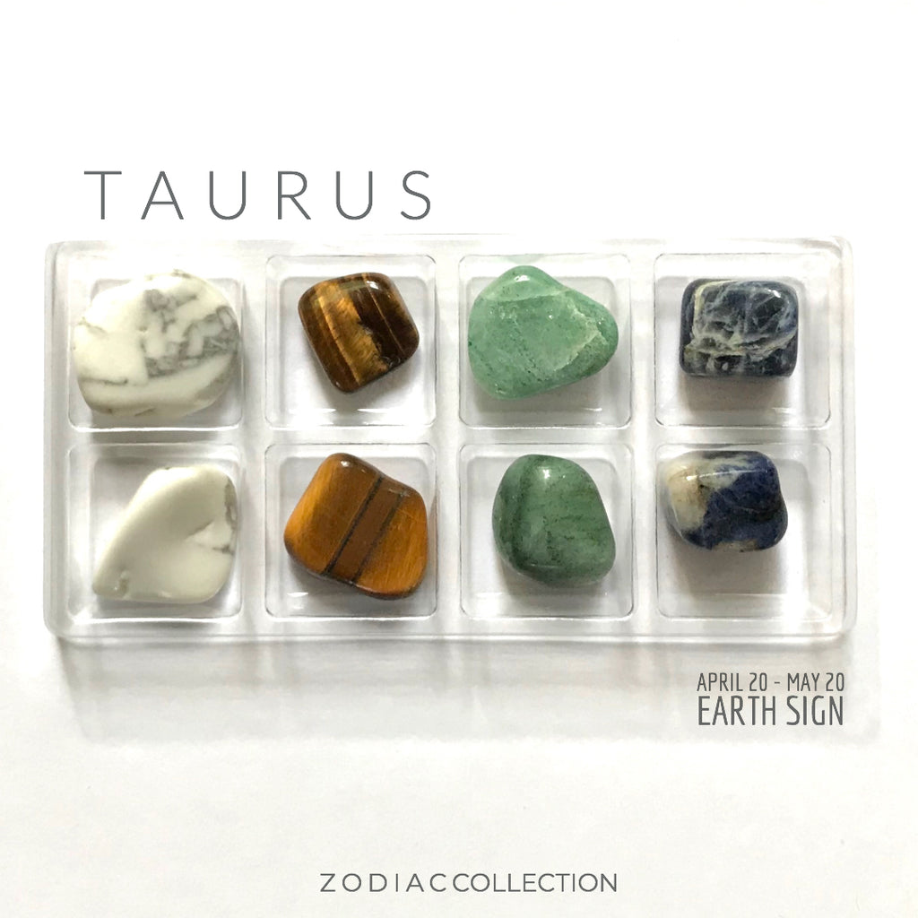 TAURUS ZODIAC COLLECTION --- April 20 - May 20 | Earth Sign -- Rox Box