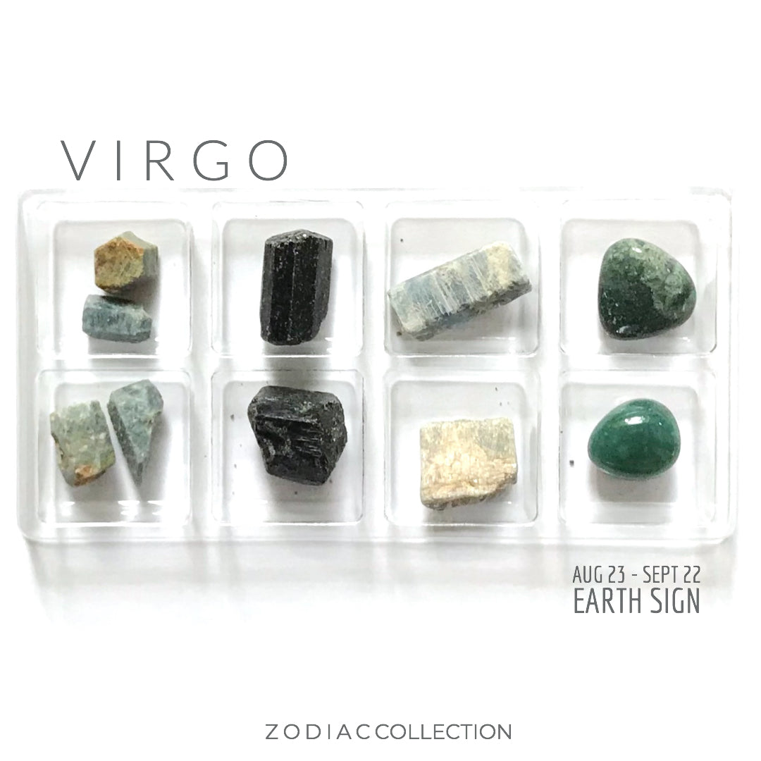 VIRGO ZODIAC COLLECTION -- Aug 23 - Sept 22 | Earth Sign -- Rox Box