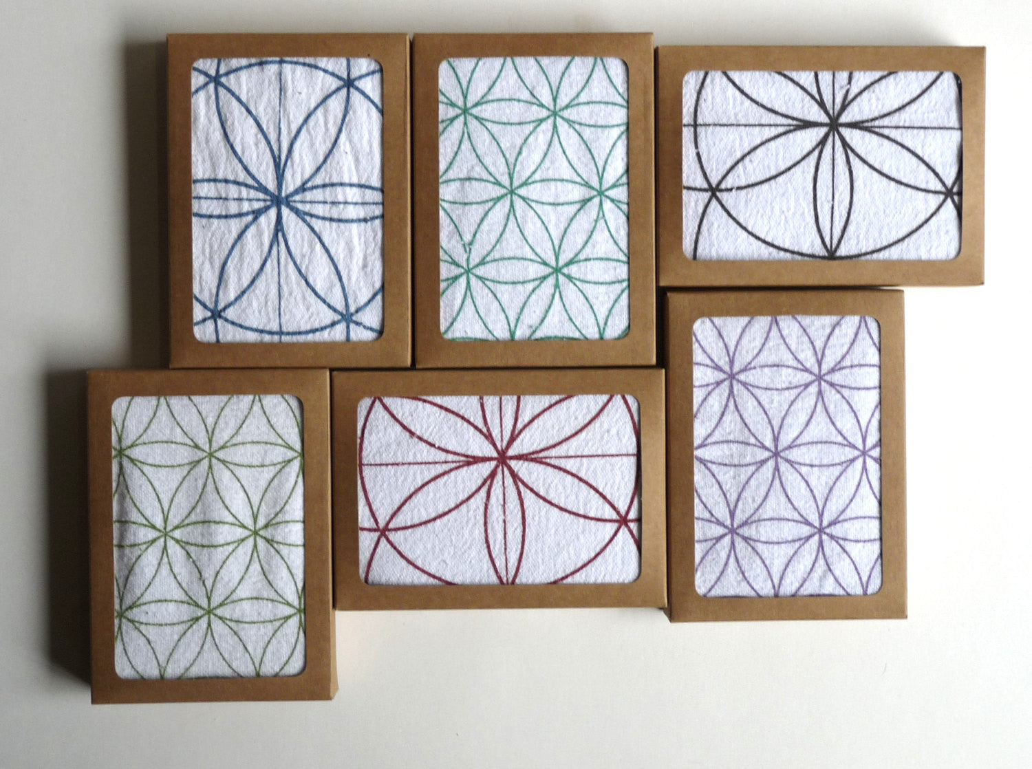 Crystal Grid Cloths Set Of 3 Choose Any 3 Designs 100