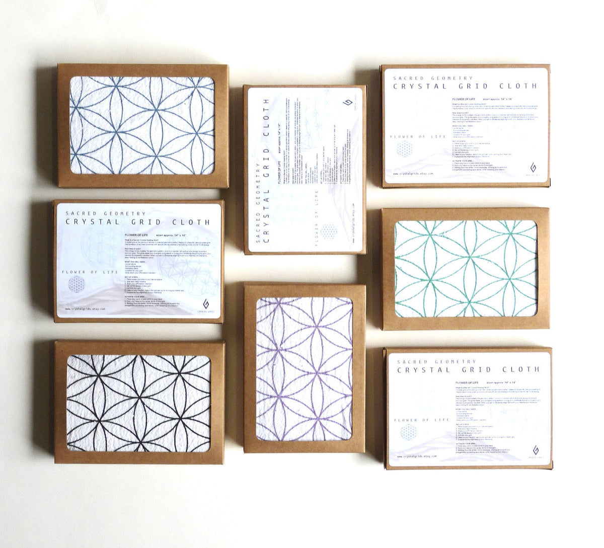 WHOLESALE - CRYSTAL GRID CLOTHS
