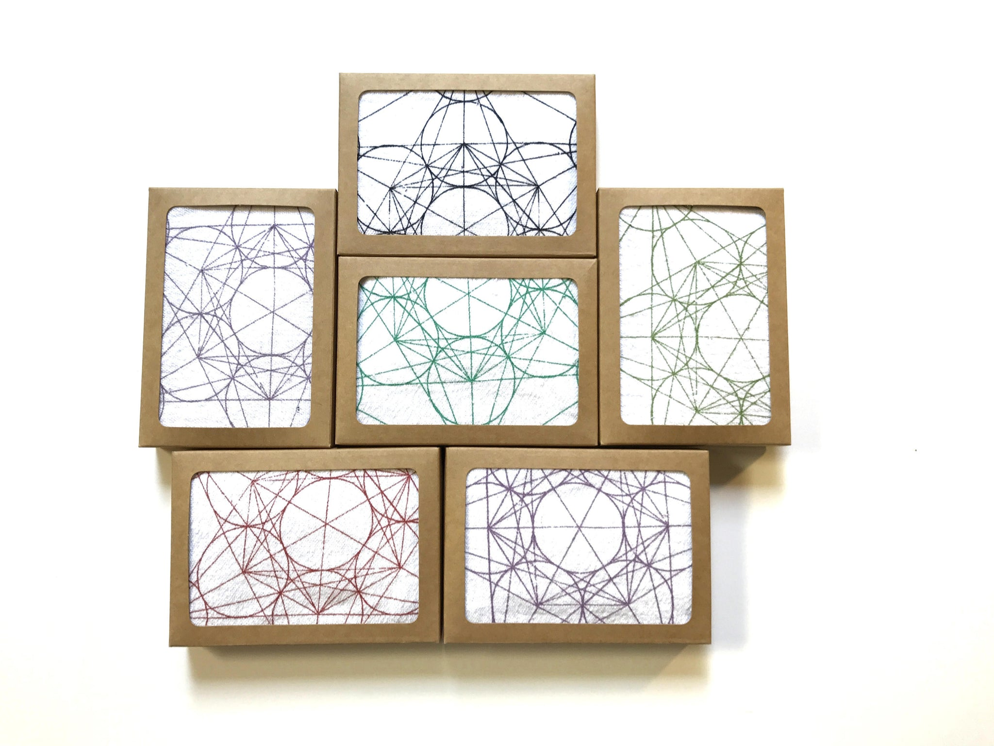 METATRON'S CUBE--- Crystal Grid Cloth