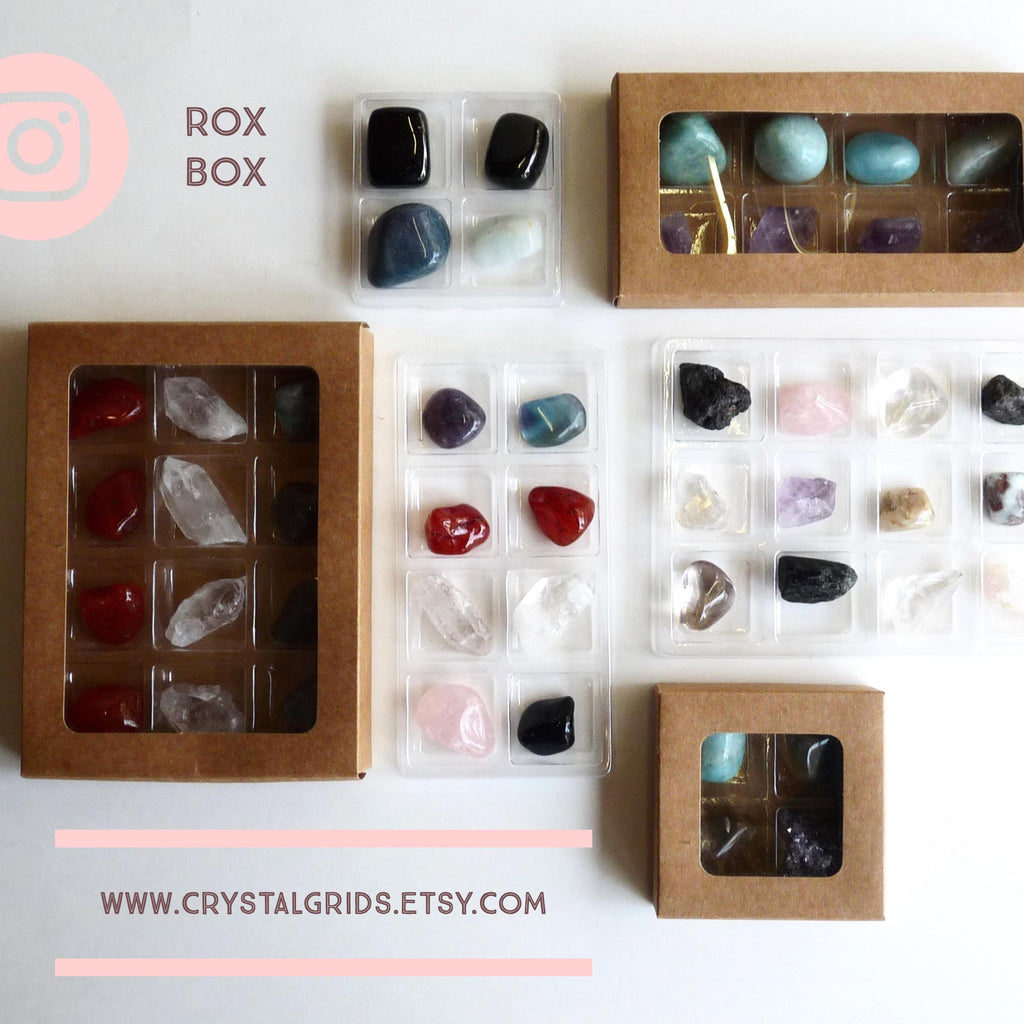 CHAKRA STONE COLLECTION --  Rox Box