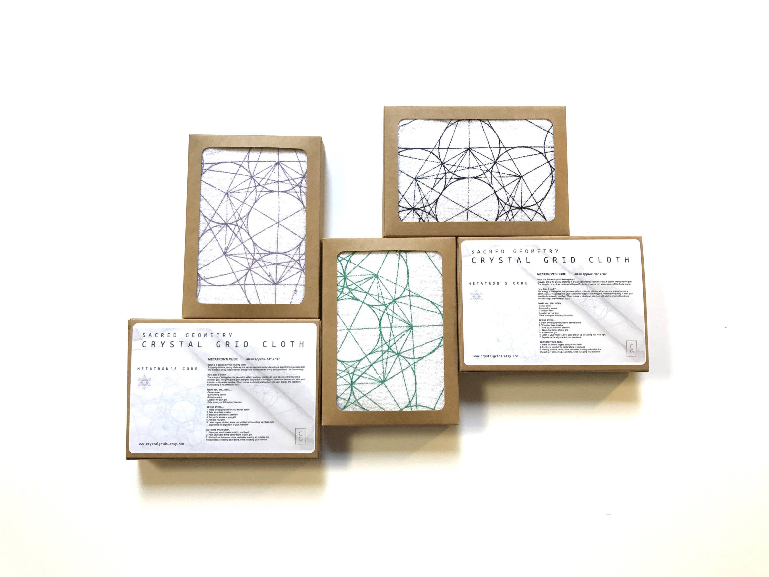 metatron s cube 1 crystal grid cloth all natural 100