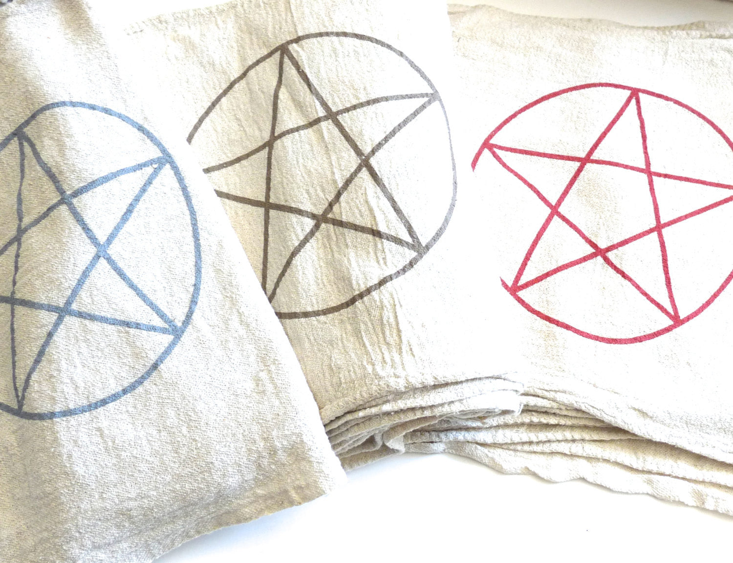 PENTAGRAM --- Crystal Grid Cloth