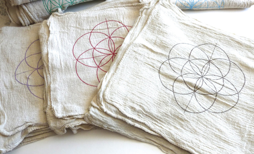 SEED OF LIFE --- Crystal Grid Cloth
