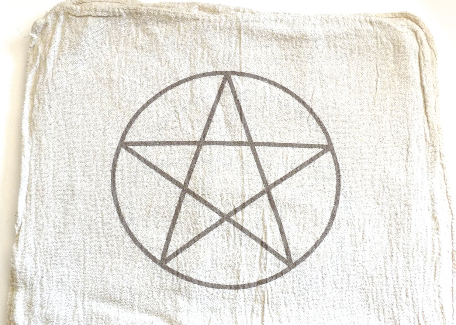 CRYSTAL GRID CLOTHS Set Of 3 100 Cotton All Natural Sacred Geometry Grid Templates