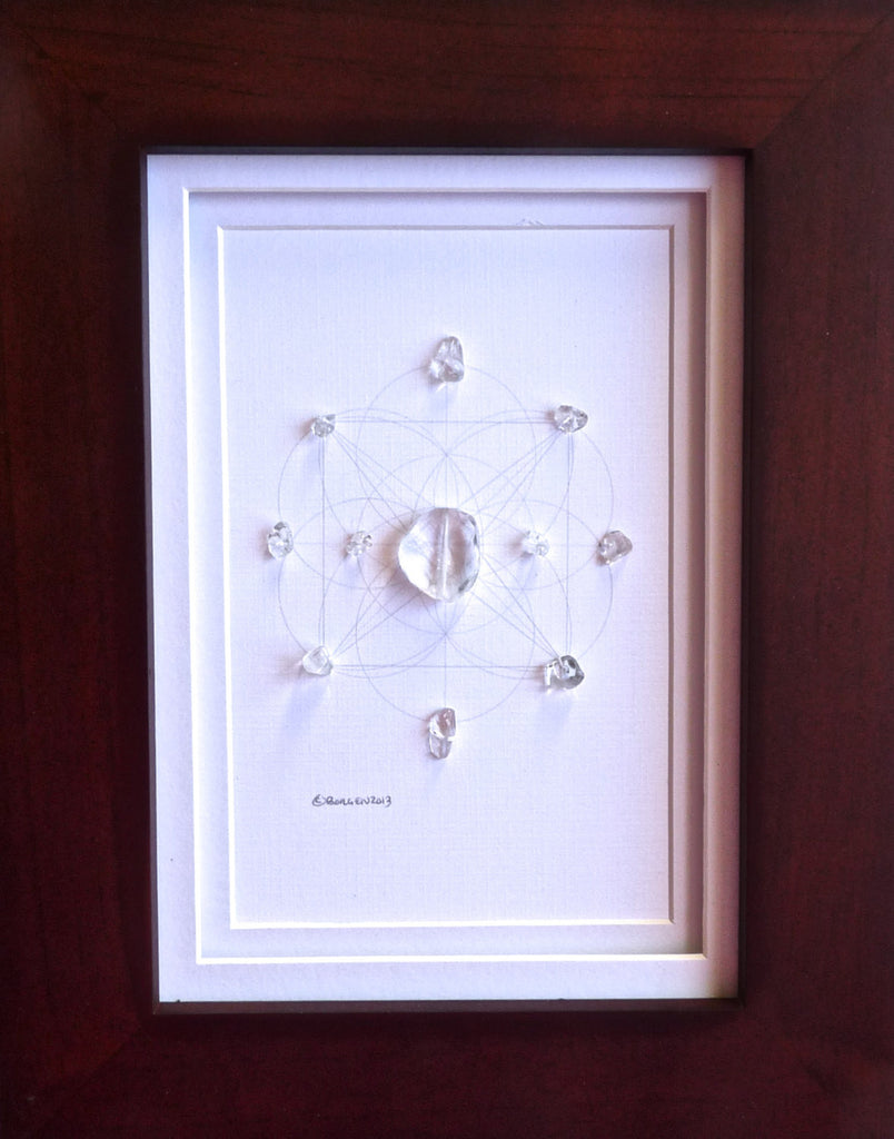 QUARTZ -- framed crystal grid