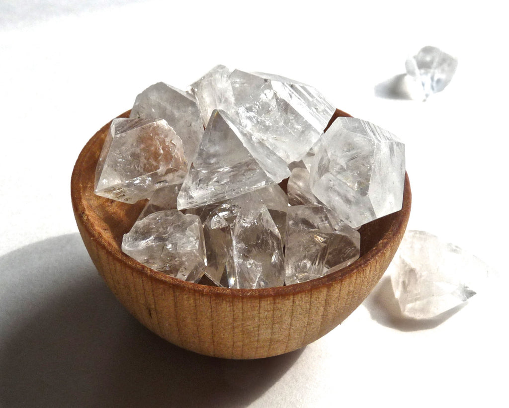 APOPHYLLITE POINTS - tips- pyramids