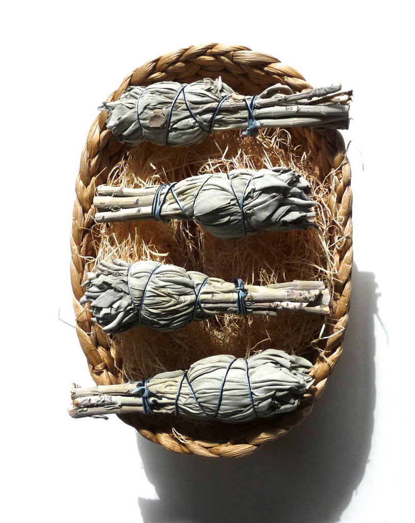 SAGE BUNDLE - smudge stick, clearing tool, easter basket idea, easter basket stuffer