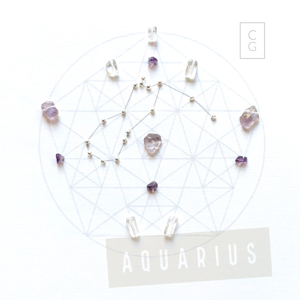 ZODIAC AQUARIUS --Jan 20- Feb 18
