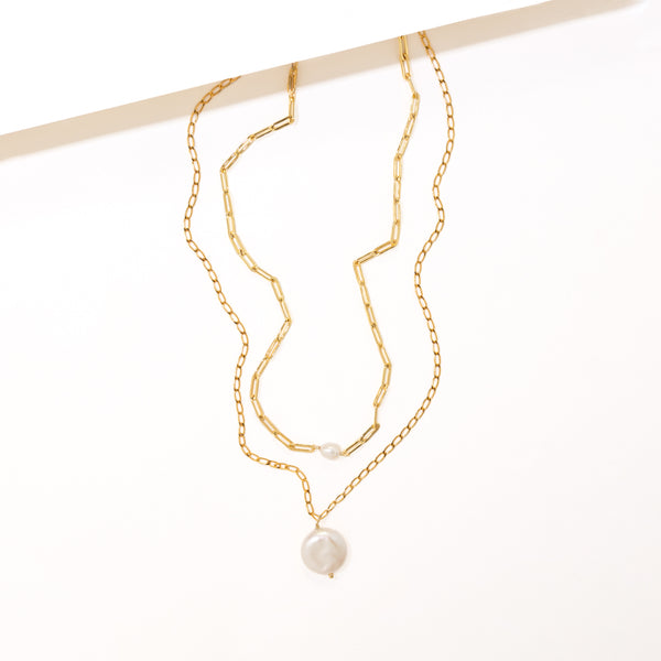 MAR LAYERED NECKLACE