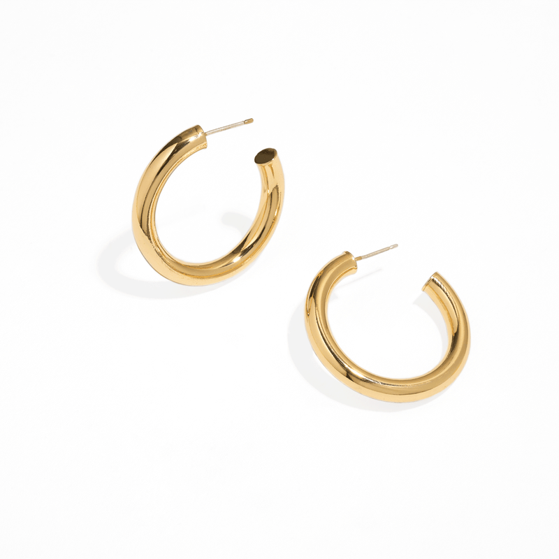 BOHO BOLD HOOPS MEDIUM