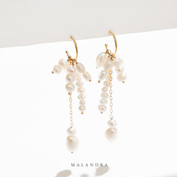 PEARL QUEEN EARRINGS