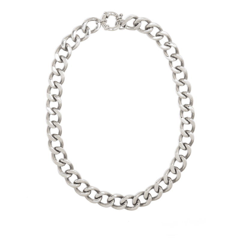 FAUCHON SILVER NECKLACE