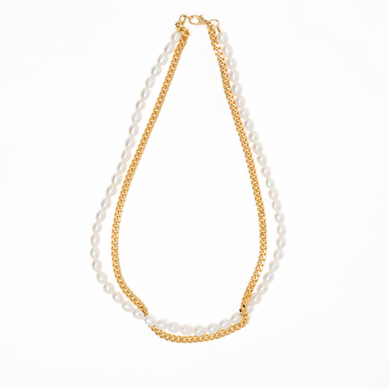 RAVEL GOLDEN NECKLACE
