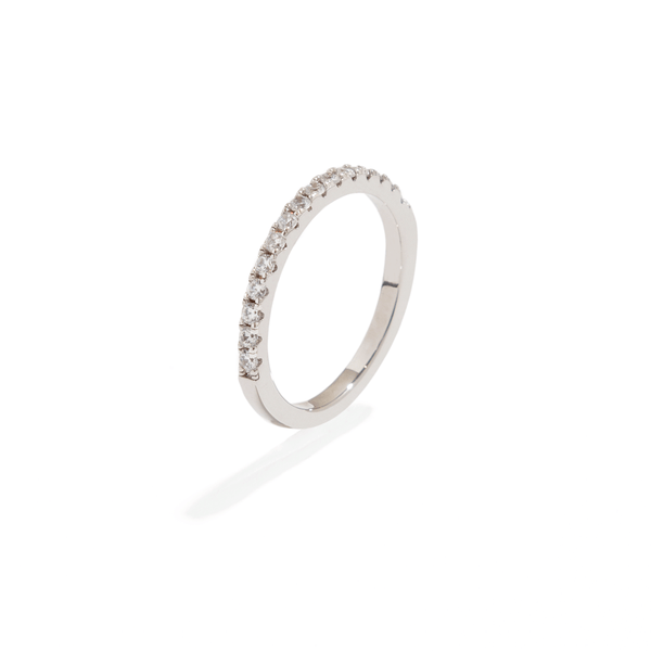MOISSANITE BAND RING
