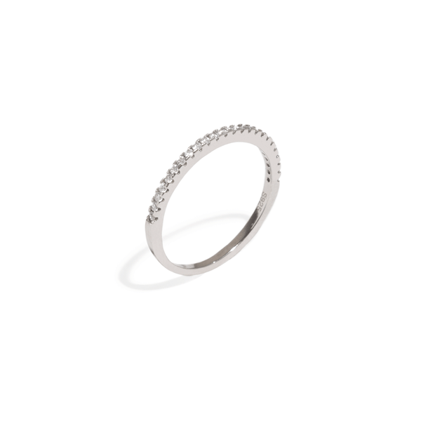 MOISSANITE SLIM BAND RING