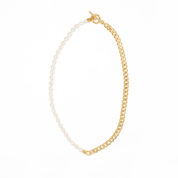 ROYAL LINK SLIM NECKLACE