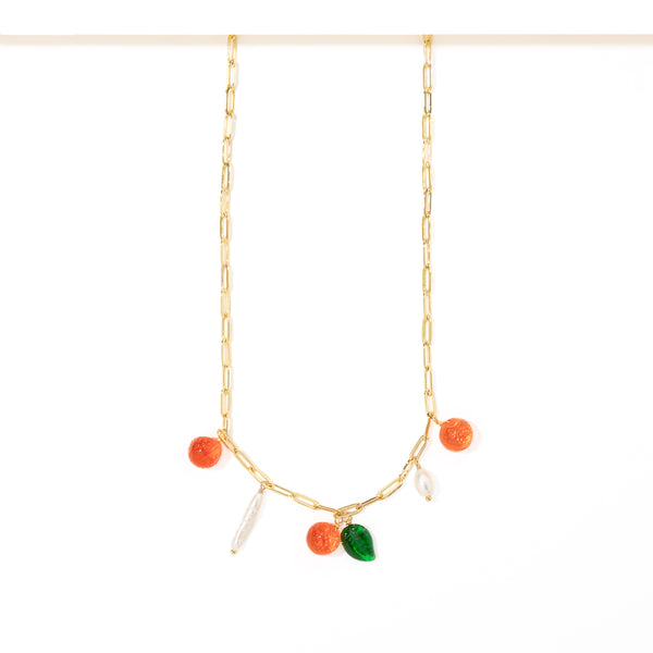 ORANGE SPRITZ NECKLACE