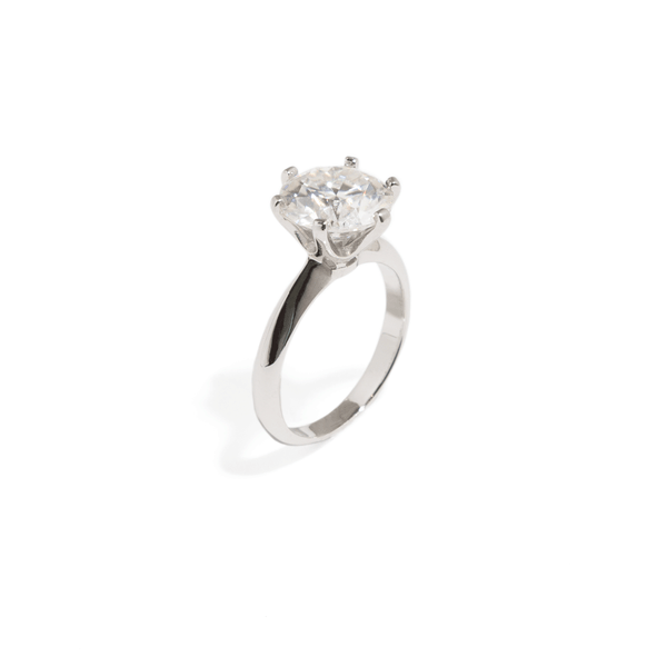 SOLITAIRE BRIDAL RING - 3CT