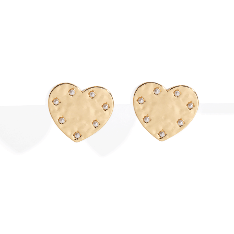 STARRY HEART EARRINGS
