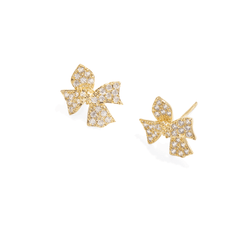 SPARK BOW EARRINGS