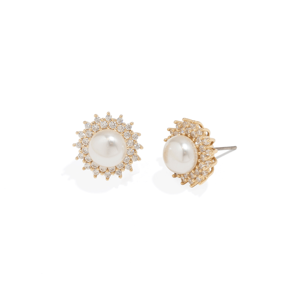 SUN PEARL EARRINGS