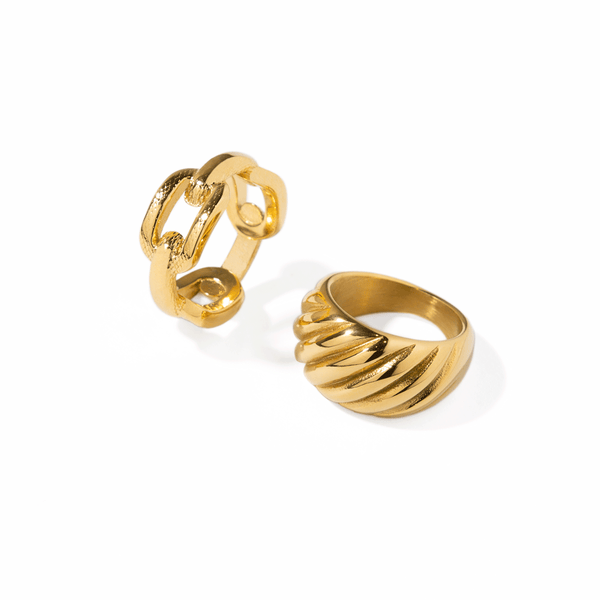TWIST GOLDEN RING