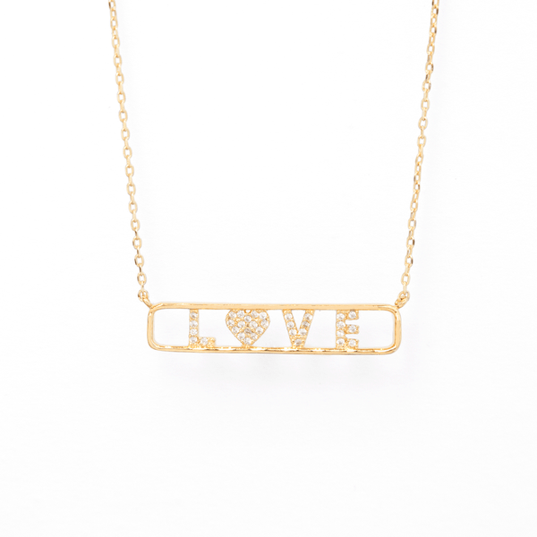 LOVE PANEL NECKLACE