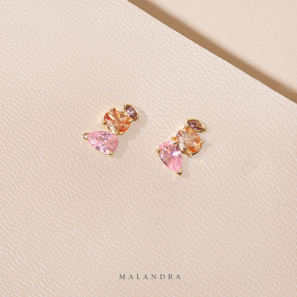 PINK DUSK EARRINGS