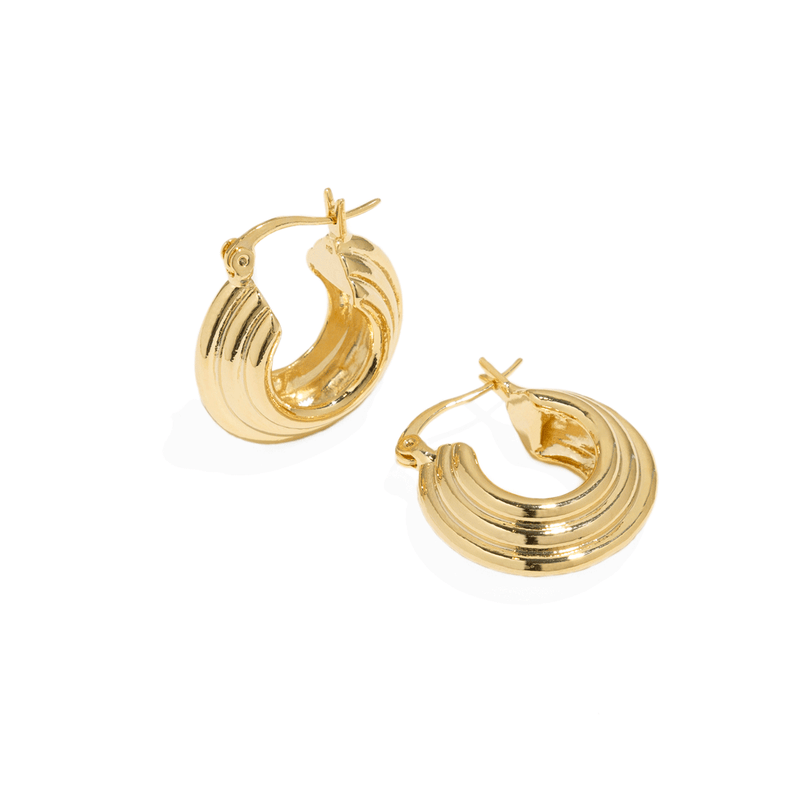 ALIA GOLDEN HOOPS