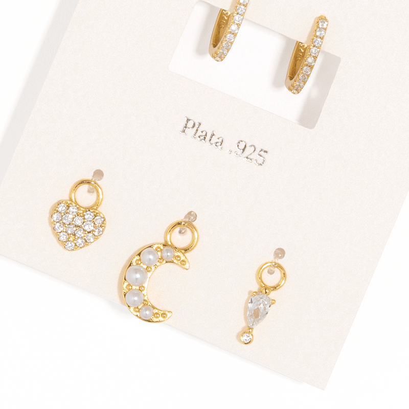 DREAM CHARM EARRINGS SET