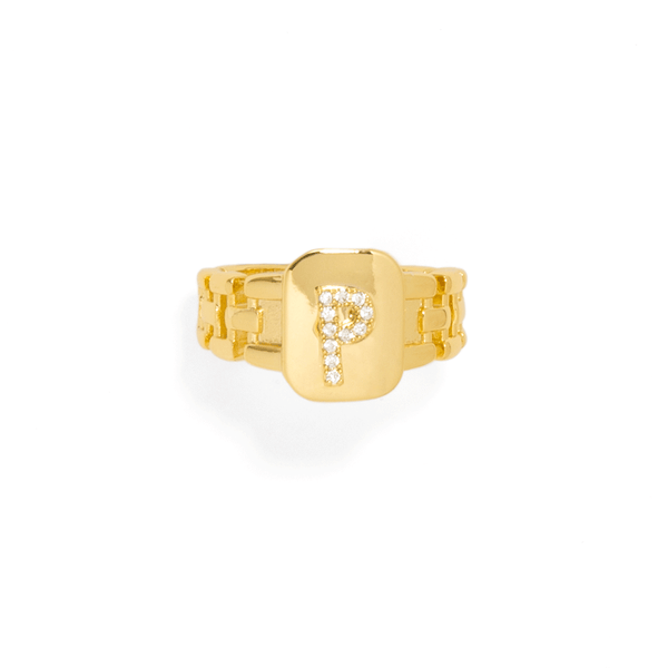 TOSCANA LETTER RING