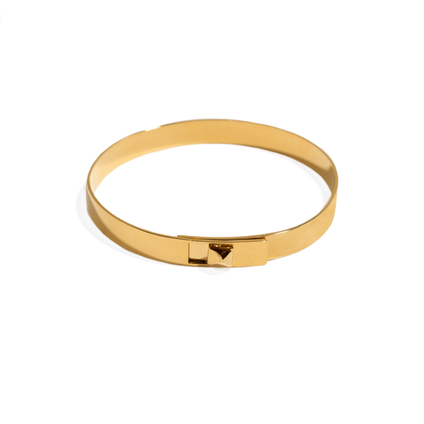 UNO PYRAMID BANGLE BRACELET