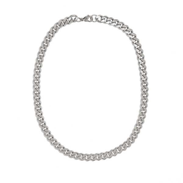 PARMA SHORT SILVER NECKLACE
