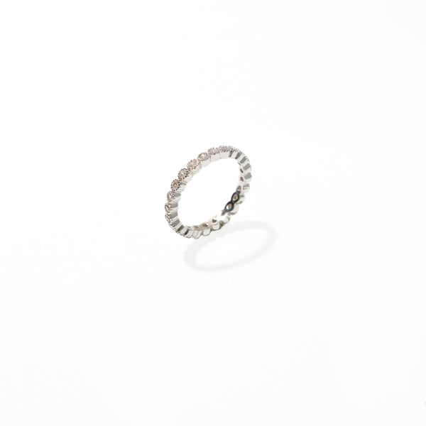 LUMIERE SILVER RING