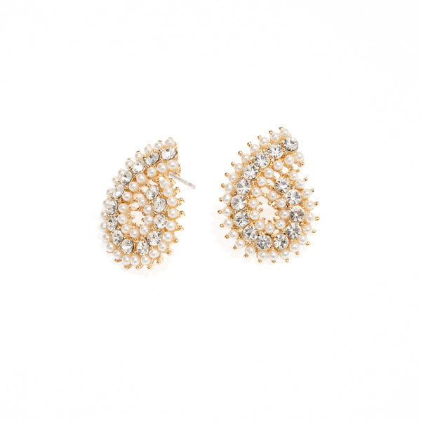 NAUTILUS PEARL EARRINGS