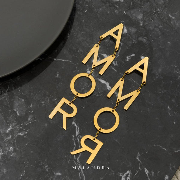 AMOR STATEMENT EARRINGS