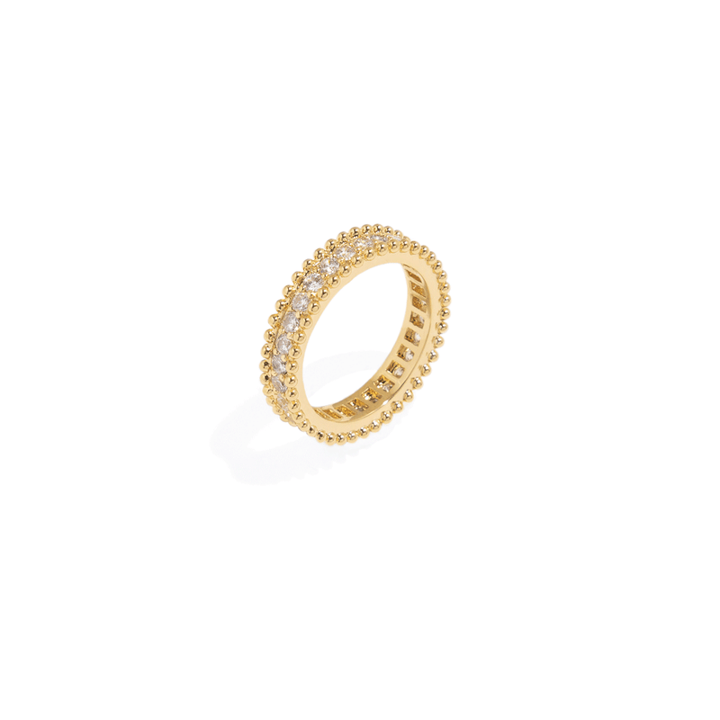 ROUND BOHO GOLDEN RING