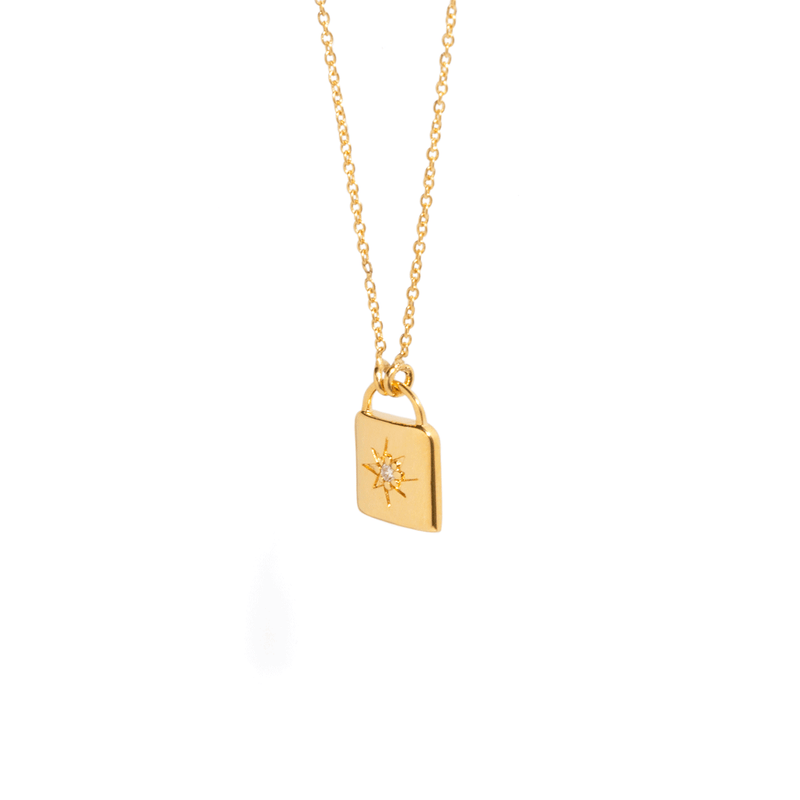 MÉMOIRE LOCK NECKLACE