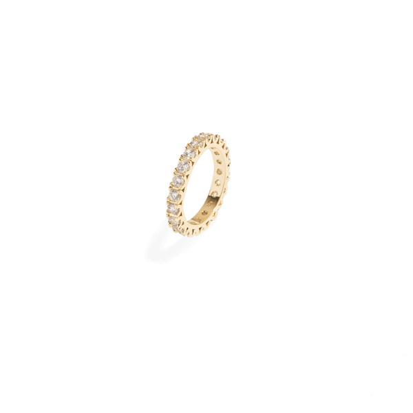 ROUND GOLDEN RING BAND