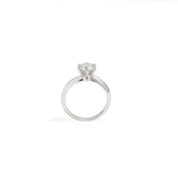 SOLITAIRE BRIDAL RING - 1ct