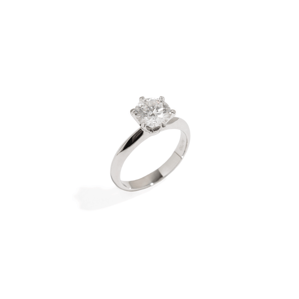 SOLITAIRE BRIDAL RING - 2ct