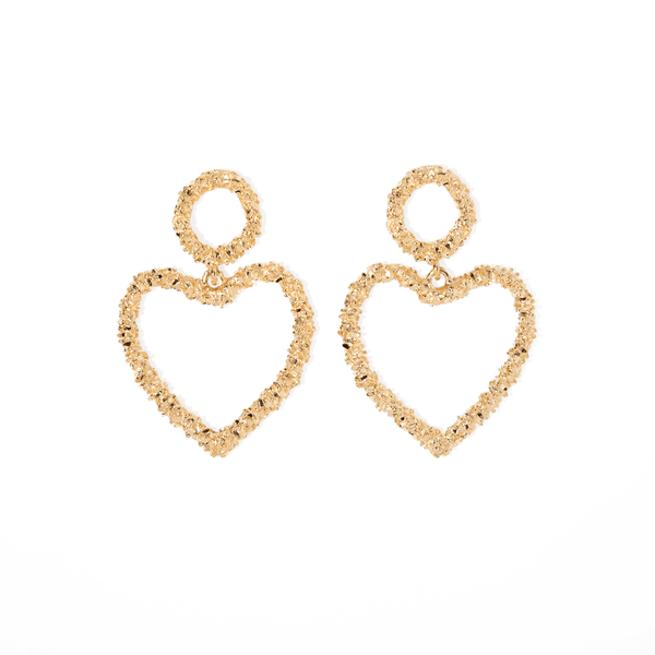 BOHO HEART EARRINGS