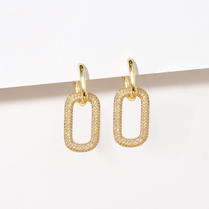 SPARK LINK EARRINGS