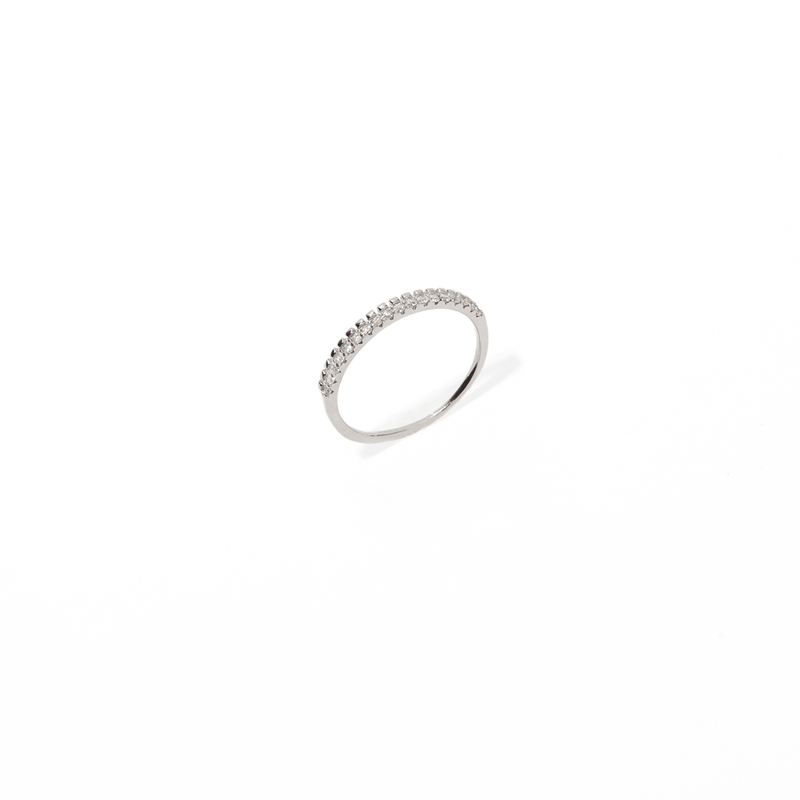 DUPLA SILVER RING
